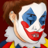 The fear of the painted smile. WIP by MissGallifrey