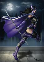 Huntress by Digraven