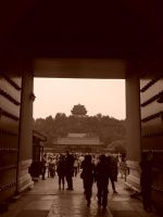 Leaving the Forbidden Palace by jmasker