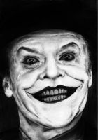 Jack Nicholson as The Joker by Mizz-Depp