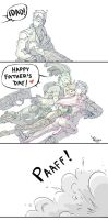 Happy father's day by Queen-Apple