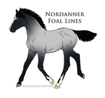 3932 Foal Design Recreation by NativeWolf330