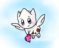 Togetic chibi by Eeveelutions95