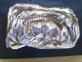 Altered Books - Art Coursework by eatingmoose