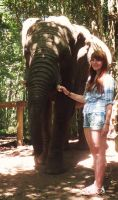 Me and the Elephant by alittletwirler