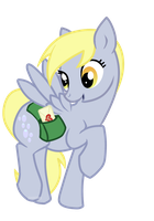 Derpy delivers some love by Sunfur