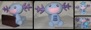 Wooper Plush by MissDeadEnd