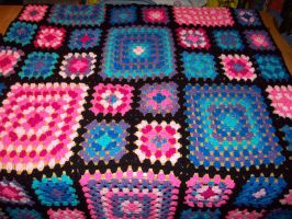 Granny Squares p b complete by Nishii55