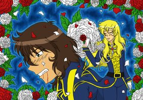Rose of Versailles by Featherwolf-Pluma
