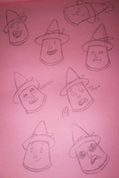 Magic Man Practice Sketches - Adventure Time by SJArt117