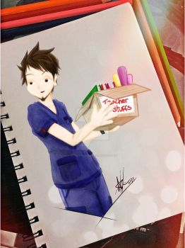 From teacher to nurse (Gonzii Ver01) by gonziengfiao