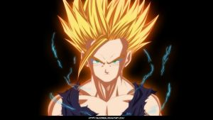 Dragon Ball Gohan SSJ2 by Advance996