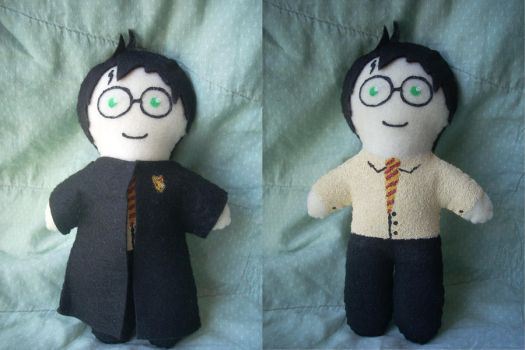 Harry Potter Plushie by reeby10