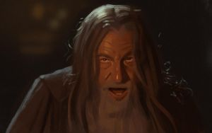 Gandalf Study by Thorsten-Denk