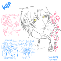 [WIP] P3P - Ooh Mister Theo by Sealkittyy