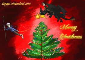 Jack Frost And Hiccup - Christmas Contest by Shoyzz