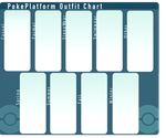 PP: Outfit Chart by Delliria-Gruesome