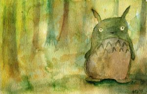 Totoro Sighting by littlekelly