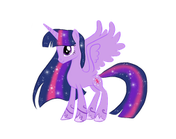 Alicorn Twilight by KrazeeLadee
