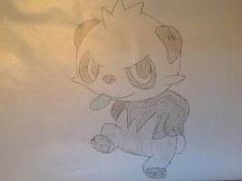 Pokemon - Pancham by dewildbunbun