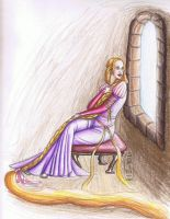 Rapunzel by MyWorld1