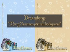 Free Christmas background by Drakenborg