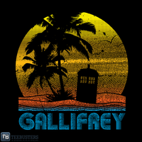 'Gallifrey Beach' by RobGo by Teebusters