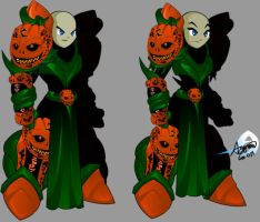 Sinister Pumpkin Warlord by Agyron