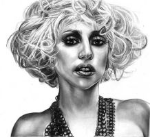 Lady Gaga by girlinterruptedbyart