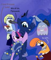 Way to Go, Luna by Cartuneslover16