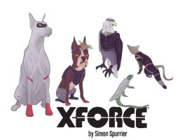 Si Spurrier's X-Force by jackcrowder