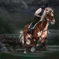 Through the rain by Auldale