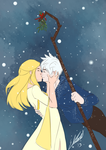Mistletoe Kiss by Alrynnas