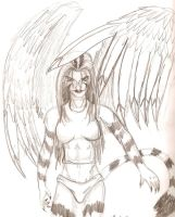 Tigress Angel by RedTigress