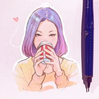 coffee by Kuvshinov-Ilya