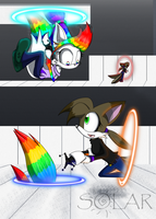 Gift .:Thinking with Portals:. by SolarPaintDragon