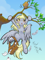 Hang In There Derpy by TurtieDroppings