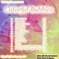 Colorful Bubbles Cover by waluigisrevenge