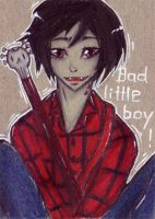 ACEO Bad little boy by ChemicalIceTea