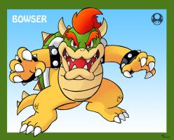 Smash Bros Bowser by SonicKnight007