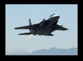 F-15E Departure by jdmimages