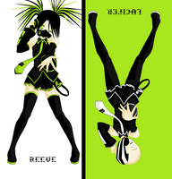 Reeve and Lucifer Vocaloids by Hanapu-sama