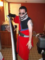 Auron Sword from Final Fantasy X 7 by jechtusrevan
