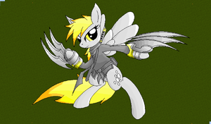 Minecraft Derpy Hooves Ninja (bright) by Ariakus89