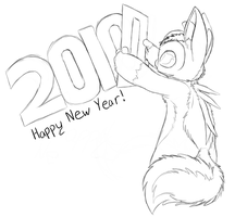 New Years Sketch by Ovni-the-UFO