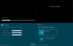 Windows 8 Beta Installation 1 by arcticpaco