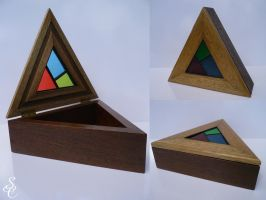 Stained Glass Box by CoolingGiant