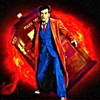 Tenth Doctor by LowBassGuy