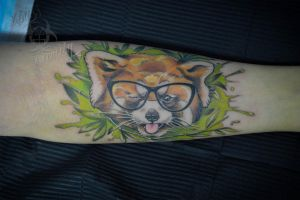 red panda by ABYSS-TAT-2S
