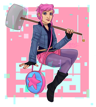 ramona flowers by jekyll-paint